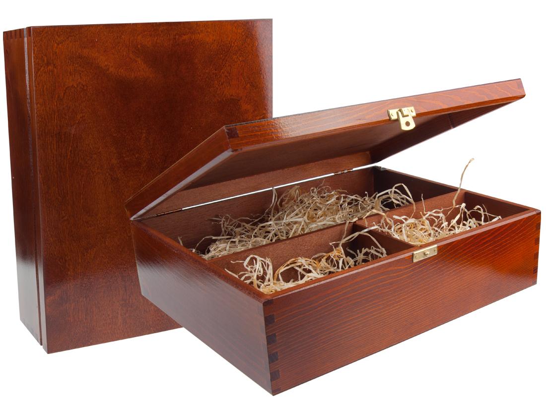 Genialny Etui ozdobne - Pudełko drewniane - E0003 GrawerGift.pl BR74